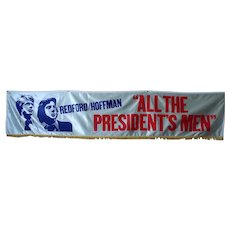 """All the President's Men"" Custom-Made Movie Banner"
