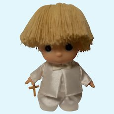 1989 Enesco Precious Moments Collection HI BABIES Baptismal Doll