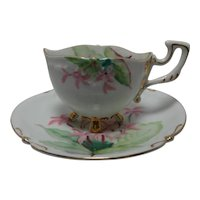 Vintage Rossetti Oval Teacup and Saucer