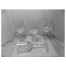 Vintage Legacy Wine Glasses by Anchor Hocking