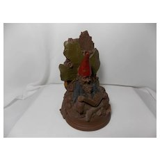 """Vintage Whimsical Tom Clark Gnome """"Able"""" Bookend"""