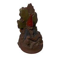 "Vintage Whimsical Tom Clark Gnome ""Able"" Bookend"