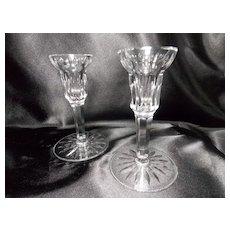 Vintage Carina Eileen Waterford Candlesticks