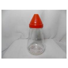 Vintage Red Top Federal Tool Corp. Sugar Dispenser