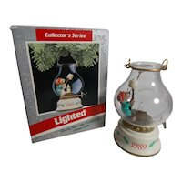 Vintage Adorable Vintage Christmas Chris Mouse Cookout Ornament