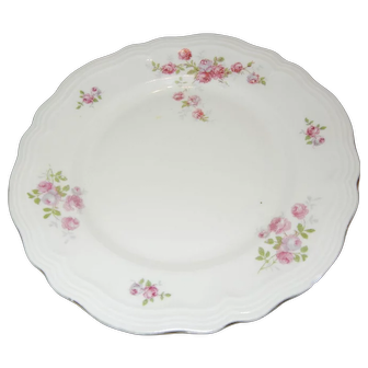 Old Bavarian Dessert Dishes with Roses
