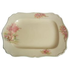 C1912 J & G Meakin Platter from England