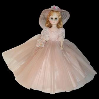 "Gorgeous Madame Alexander ""Elise"" Bridesmaid Doll 17"" Tall"