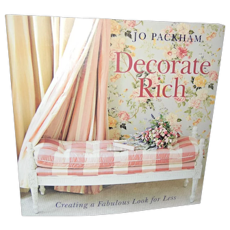 """""""Decorate Rich"""" book by Jo Packham Like New!"""