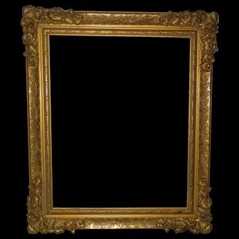 Old Gilded Wood Frame