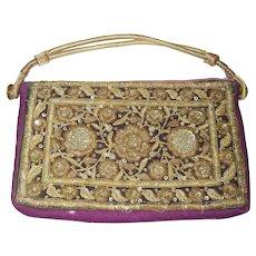 Old Embroidered Handbag