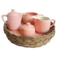 Pink Breakfast Set