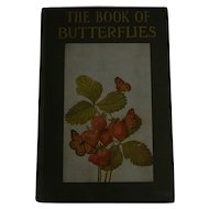 "Beautiful Old Nature Book:  ""The Book of Butterflies from the Little Nature Library,"" Published 1934"