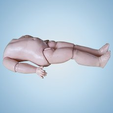 Jumeau body with straight wrist 21 inches or 54 cm