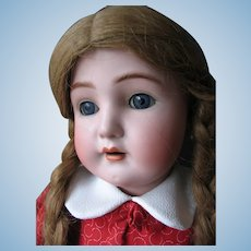 S&C Simon & Halbig  28 inches or 70 cm bisque head doll.