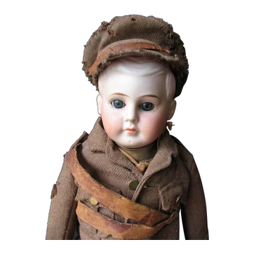 All original soldier WO 1   16 1/2 inches or 42 cm