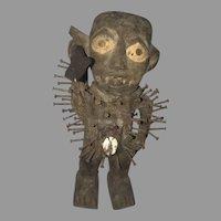 "RARE Collectible Nkisi Nkondi ""Power Figure, Nail Fetish"" 19th Century Figure (ART10037)"