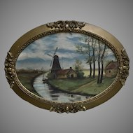 19th Century Dutch Art and Frame (ART10068)