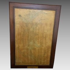 Antique Maps of Southern and Northern Chesapeake Bay (ART10072)