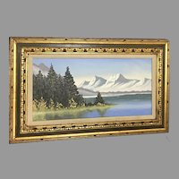 "INCREDIBLE A. Marik ""Alaskan Landscape"" Painting (ART10073) on SALE Thru 12-17-2020"