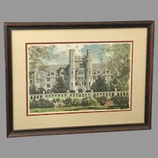 "Duke University ""The Medical School"" Print (ART10083)"