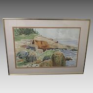 "Jefferie S. Russell ""Bank"" Lithograph (ART10087)"