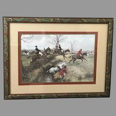 Set of Four 19th Century George Wright Engravings in Matching Frames (ART10115)