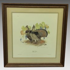 30% Off Intro Special EXTENDED! Don Whitlatch Ruffled Grouse Print (ART10118)