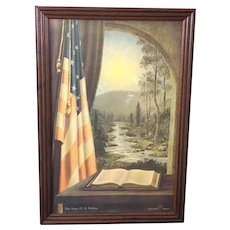 """James M. Haines: """"The Hope of A Nation"""" Print (ART10131)"""