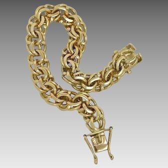 Classic 1950's 18K Yellow Gold Bracelet (BRA10022)