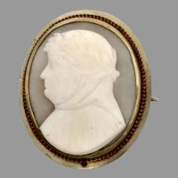 German Martin Luther Commemorative Cameo 0.800 Silver Cameo (CAMPEN10041)