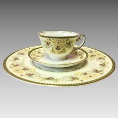 Vintage Charm (F&B Japan) by Meito China Place Settings Circa 1940's (CHIN10013)