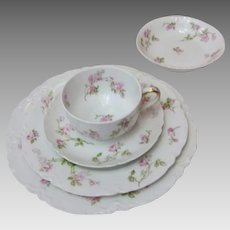 Vintage Haviland Schleiger 150 36 piece set of Fine China (CHIN10015)