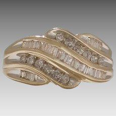 Vintage 0.50tcw 10KY Diamond Ring (DIAR10268)