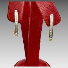 Diamond Fashion Earrings with 0.24tcw and 10K Yellow Gold (EARDIA10012)