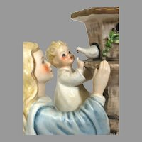 "Rare! Vintage Hummel Figurine ""Madonna of the Doves"" No. Byj57 Trademark-5, Hand Painted! (HC00014R) Adorable Rare Collectible Hummel in Mint Condition"