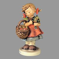 "Mint Condition! Vintage Hummel Figurine ""Autumn Harvest"" No. 355 Trademark-6 Hand Painted! (HC0002R)"