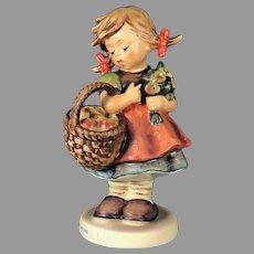 "Mint Condition! Vintage Hummel Figurine ""Autumn Harvest"" No. 355 Trademark-6 Hand Painted! (HC0002R) on SALE Great Vintage Piece"