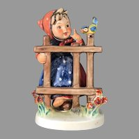 "Mint Condition! Vintage Hummel Figurine ""Signs of Spring"" No. 203-1 Trademark-5 Hand Painted! (HC0003R) Adorable Rare Collectible Hummel in Mint Condition on SALE Great Piece!"