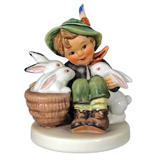 "Mint Condition! Vintage Hummel Figurine ""Playmates"" No. 58/0 Trademark-3, Hand Painted! (HC0004R)"