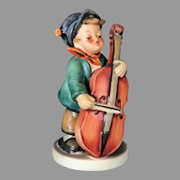 "Mint Condition! Vintage Hummel Figurine ""Sweet Music"" No. 186 Trademark-3, Hand Painted! (HC0005R)  Adorable Rare Collectible Hummel in Mint Condition"
