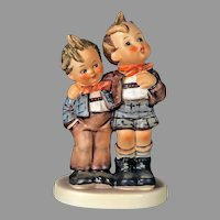 "Mint Condition! Vintage Hummel Figurine ""Max and Moritz"" No. 123 Trademark-5 Hand Painted! (HC0006R) Adorable Rare Collectible Hummel in Mint Condition"