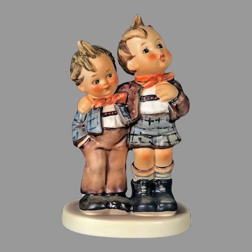 """Mint Condition! Vintage Hummel Figurine """"Max and Moritz"""" No. 123 Trademark-5 Hand Painted! (HC0006R) Adorable Rare Collectible Hummel in Mint Condition"""