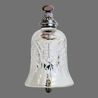 Waterford Crystal Bells 12 Days of Christmas - Partridge In a Pear Tree - No Box (OTH10186)