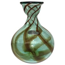 Fine Blenko Handcrafted Glass Vase (OTH10246)