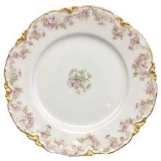 Elegant Theodore Haviland Salad Plate 8 1/8 inches (1 of 3) (OTH10262)