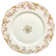 Gorgeous Theodore Haviland Salad Plate 8 1/9 inches (2 of 3) (OTH10263)