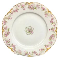 Stunning Theodore Haviland Salad Plate 8 1/9 inches  (3 of 3) (OTH10264)