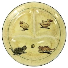 Darling Vintage Children's Plate (OTH276)