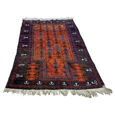 Classic Caucasian 1920's Vintage Kazak Prayer Rug (OTH10322)